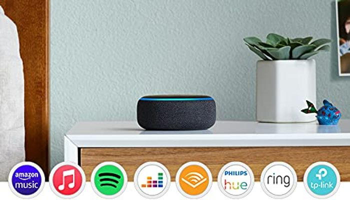 Prime Day Deal! Echo Dot (3rd Gen) - Smart Speaker with Alexa