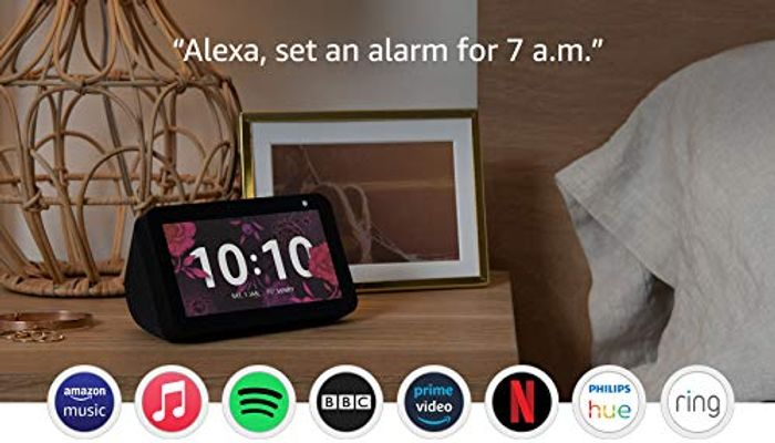 Prime Day Deal! Echo Show 5 (1st Gen, 2019 Release) Smart Display with Alexa