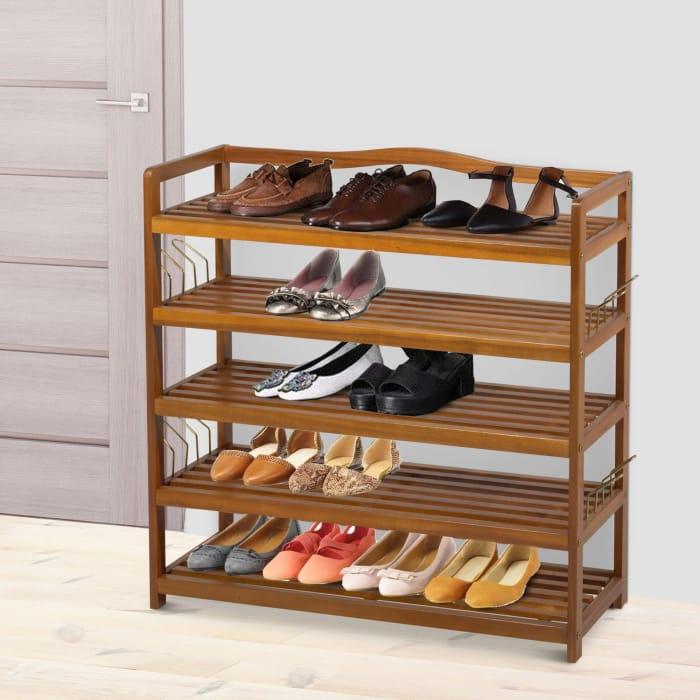 25 Pairs Shoe Rack Shoe Storage Organiser