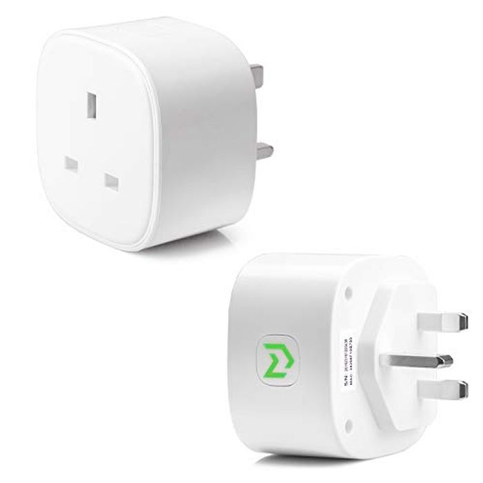 Smart Plug WiFi Socket Works with Amazon Alexa, Google Home (2PACK)