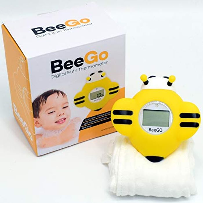 Baby Bath Thermometer for Newborn & Toddlers, FREE Wash Cloth Included