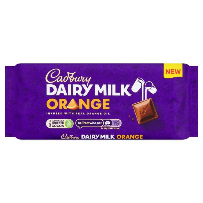 Cadbury Dairy Milk Orange