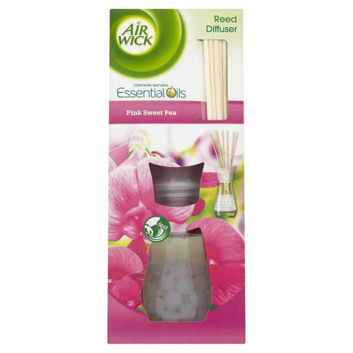 Air Wick Pink Sweet Pea Reed Diffuser 25ml