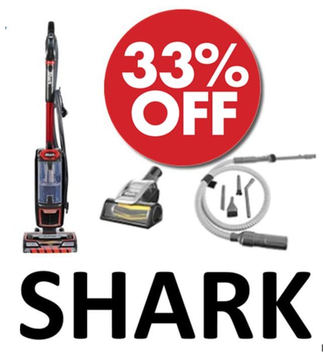 SAVE £130. Shark Vacuum with Anti-Hair Wrap + Pet Brush + Car Kit