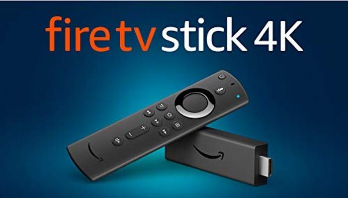 Fire TV Stick 4K Ultra HD with Alexa Voice Remote
