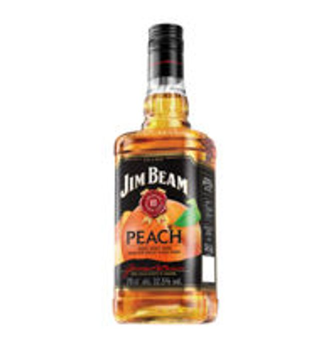Jim Beam Peach Kentucky Bourbon Whiskey - Only £13!