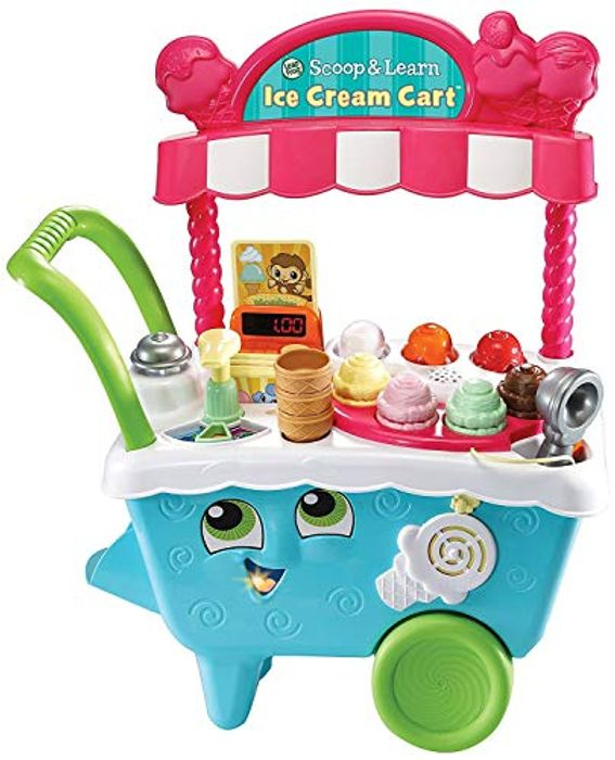 LeapFrog Scoop & Learn Ice Cream Cart Playset