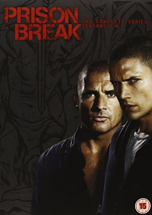 Prison Break - Season 1- 4 BoxSet - Only £3.23!