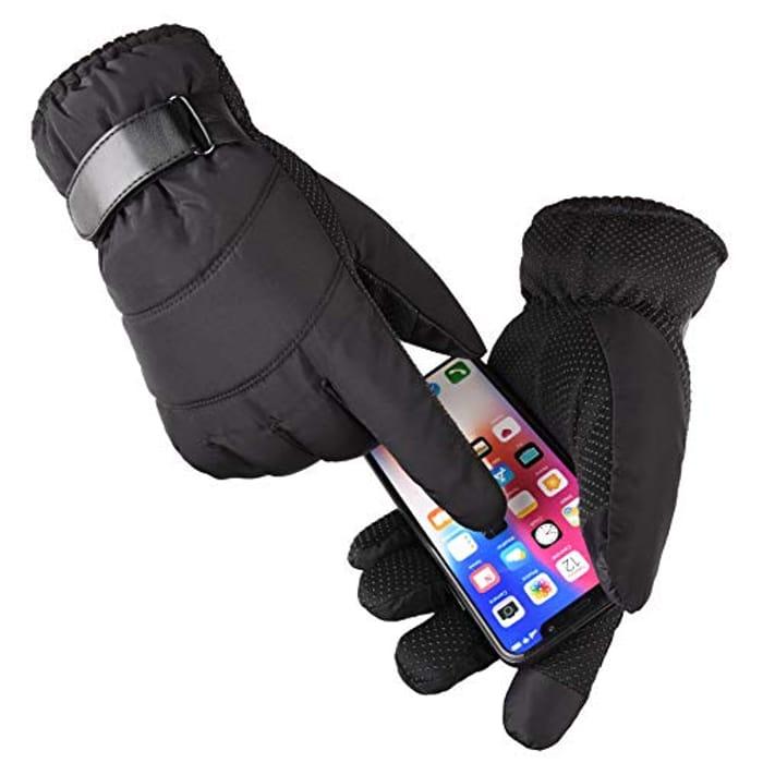 Enkarl Winter Women Touch Screen Glove Waterproof & Windproof - Only £4.90!