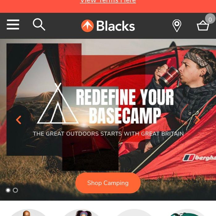 10% off All Departments at Blacks