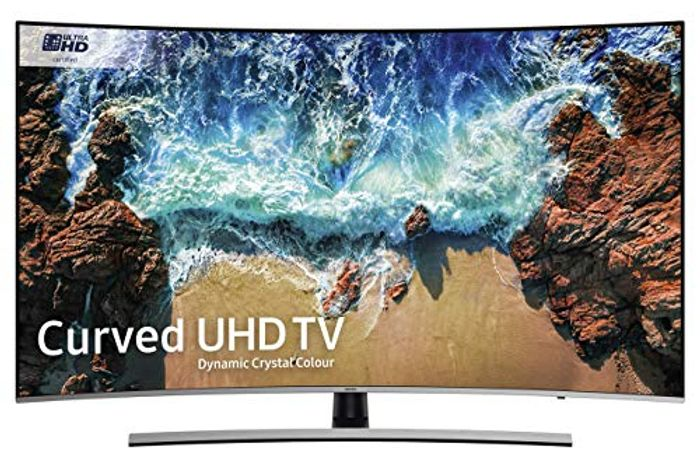 *SAVE over £227* Samsung 55-Inch Curved D/Crystal Colour Ultra HD Smart 4K TV