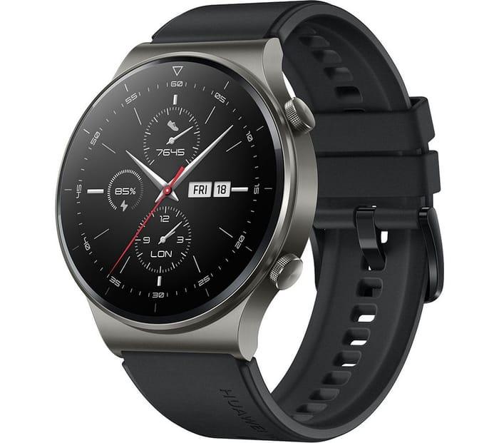 HUAWEI Watch GT 2 Pro, Night Black - Only £160.99!