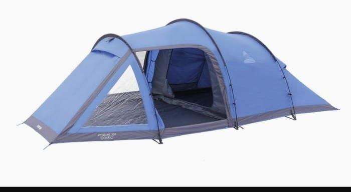 Vango Venture Tunnel Tent, River Blue, 350 [Amazon Exclusive]