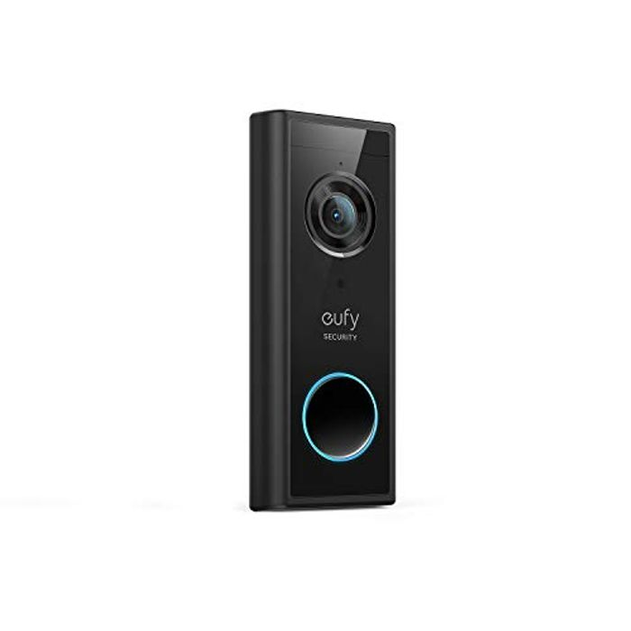 Eufy Security, Wireless Add-on Video Doorbell with 2K Resolution