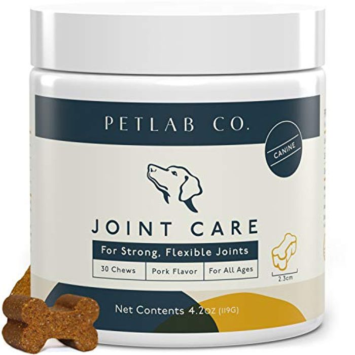 DEAL STACK - Petlab Co. Joint Care Chews for Dogs + £10 Coupon