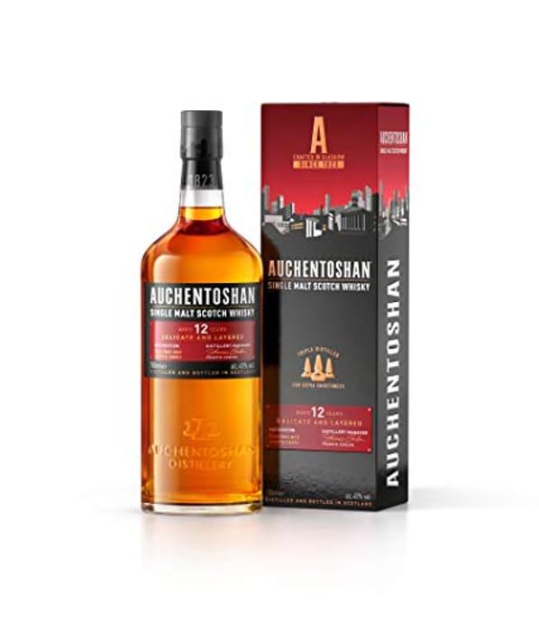 Auchentoshan 12 Year Old Single Malt Scotch Whisky - Only £25!