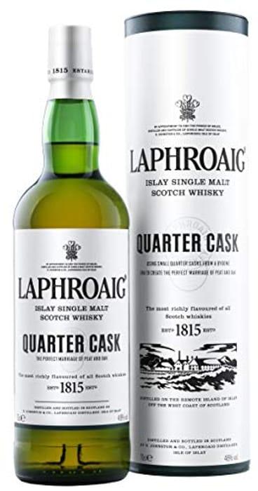 Laphroaig Quarter Cask Single Malt Scotch Whisky - Only £27!
