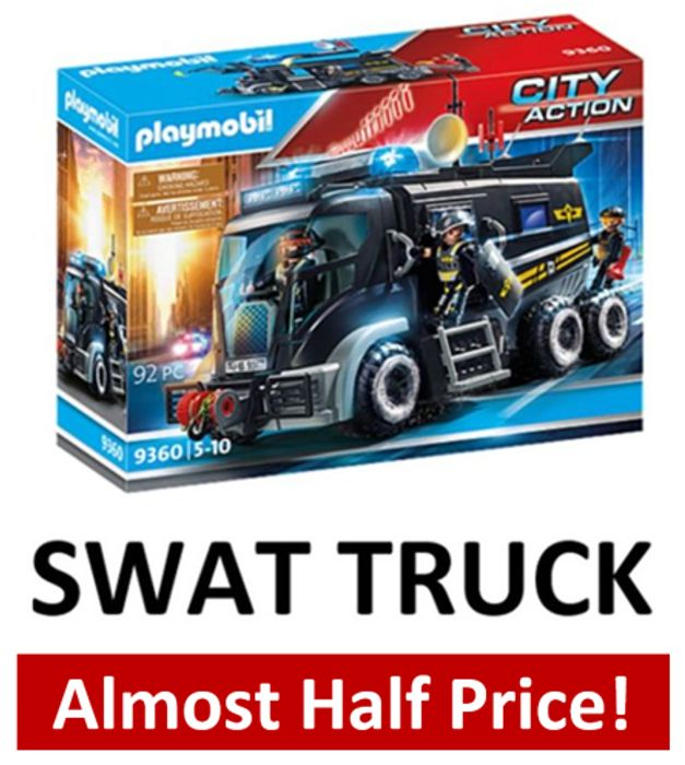 47% OFF! Playmobil SWAT TRUCK