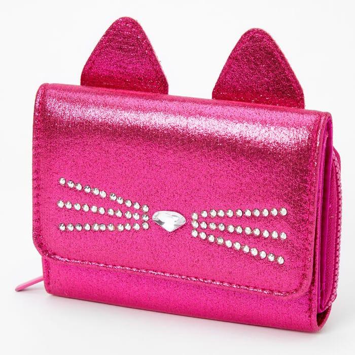 Cat Mini Wallet - Pink