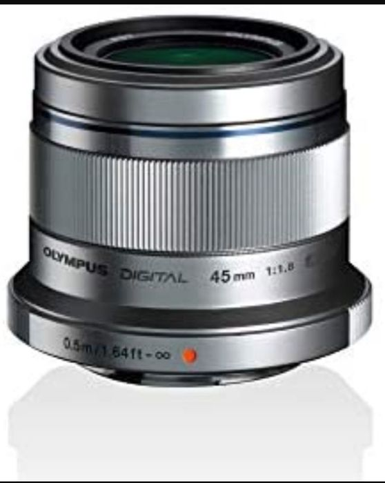 Olympus M.Zuiko Digital 45 Mm F1.8 Lens, Fast Fixed Focal Length