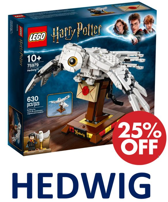 Cheap LEGO HARRY POTTER - HEDWIG - Save £9!