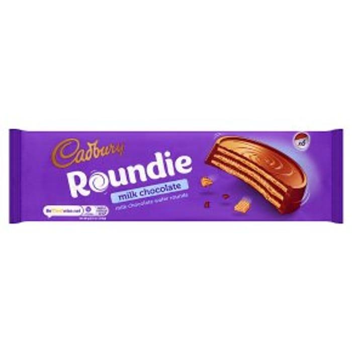 Cadbury Roundie Milk Chocolate180g