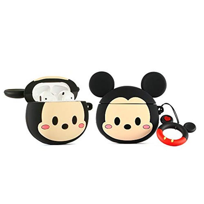 DEAL STACK - YIGEYI Cute Silicone Case Compatible with Airpods + £1 Coupon