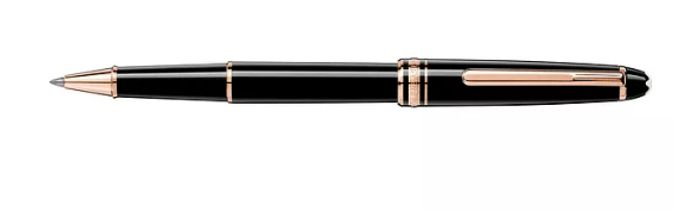 Montblanc Meisterstuck Red Gold-Plated Rollerball - Only £222!