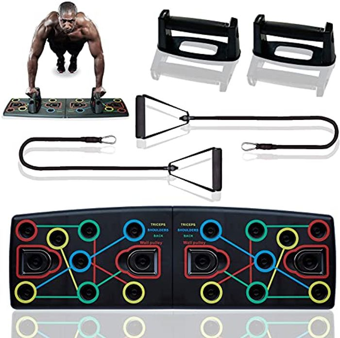 Stack Deal Press up Board, Push up Bars, 12 in 1