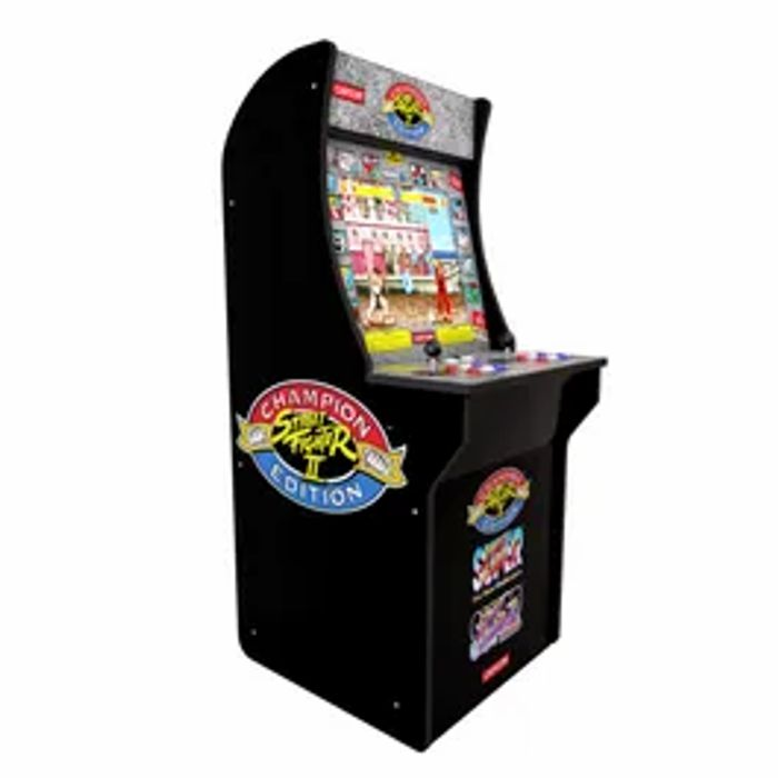 *SAVE £40* Arcade1Up Street Fighter Home Arcade Game (3 Games in 1)