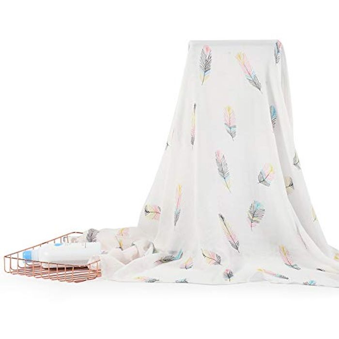 NIUXUAN Muslin Baby Swaddle Blankets - Only £7.99!