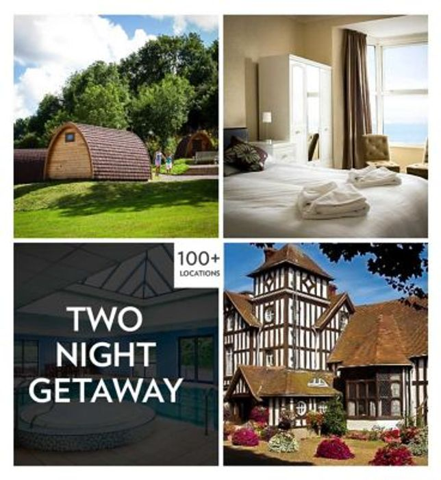 Activity Superstore Two Night Getaway Gift Experience