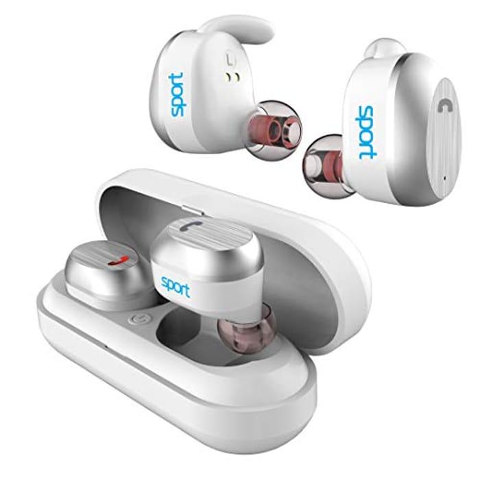 Elari Sport Waterproof Wireless Headphones and Charging Case - Only £9.00!