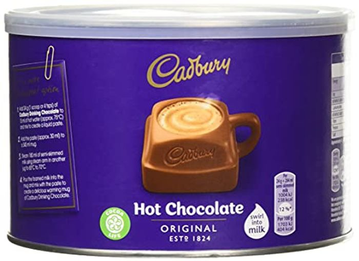 Cadbury Fair Trade Drinking Chocolate, 1Kg