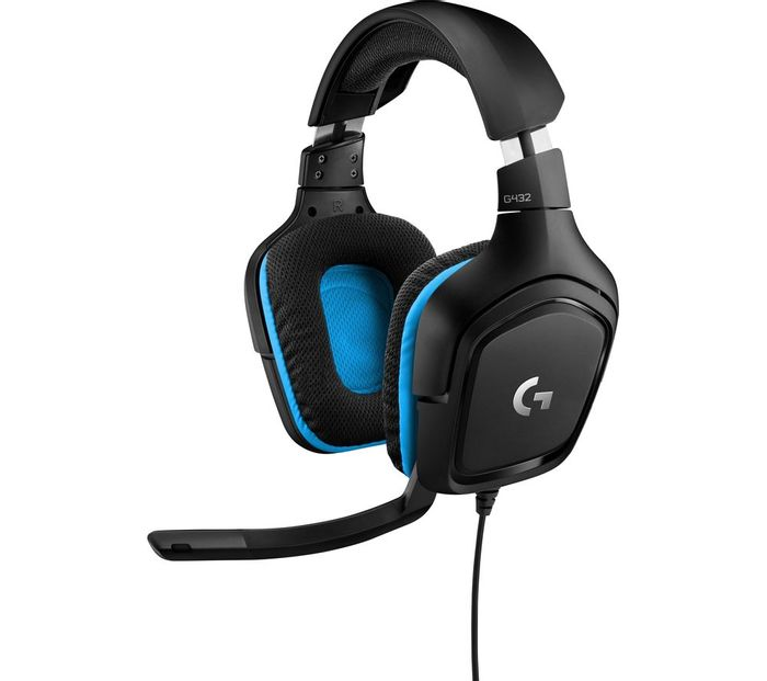 LOGITECH G432 Gaming Headset - Only £29.99!