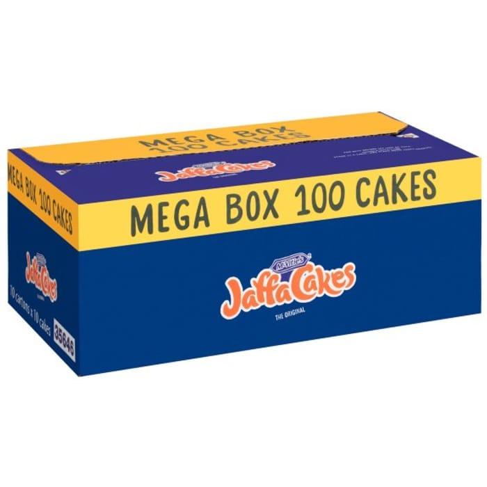 McVitie's Jaffa Cakes Mega Box 100 Cakes