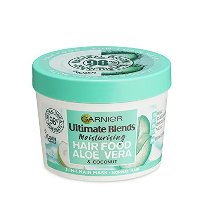 Garnier Ultimate Blends Hair Food Aloe 3-in-1, Moisturising Hair Conditioning