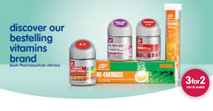 Boots Deal Stack - 3 For 2 Vitamins + Extra 20% Off Code!