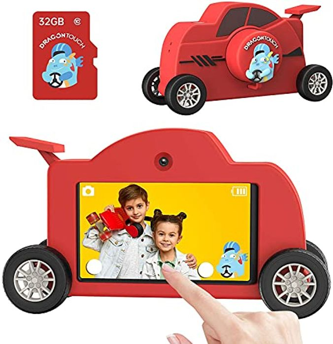 Dragon 1080P HD 48MP 3.0 Inch IPS Touch Kids Camera - Only £9.99!
