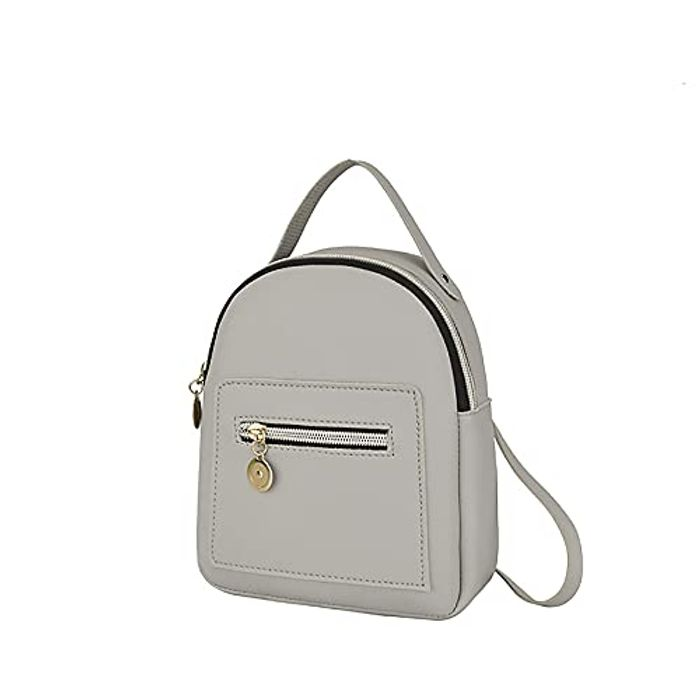 SHZFGUI Cute Cross Body Convertible Leather Backpack - Only £2.70!