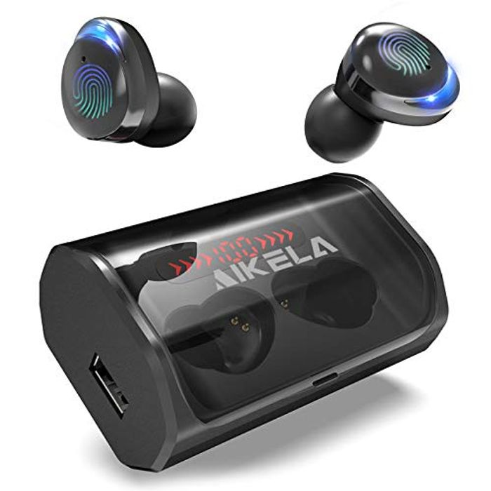 Latest ModelAIKELA HD Stereo Sound Sports Wireless Earbuds - Only £9.99!