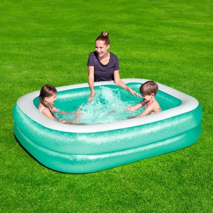 Cheap £5 Off Bestway Rectangular Family Paddling Pool - Free C&C