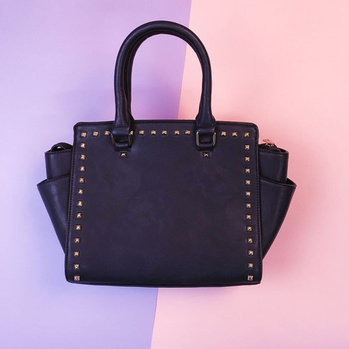 Shopaholic Handbag - Navy