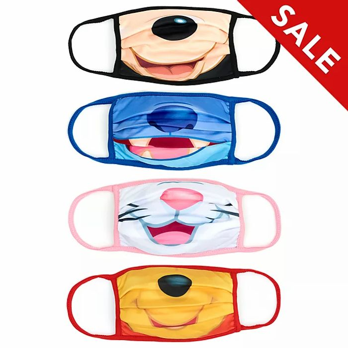 Disney Store Cloth Face Coverings Pack of 4 (other designs too) & 3 for 2