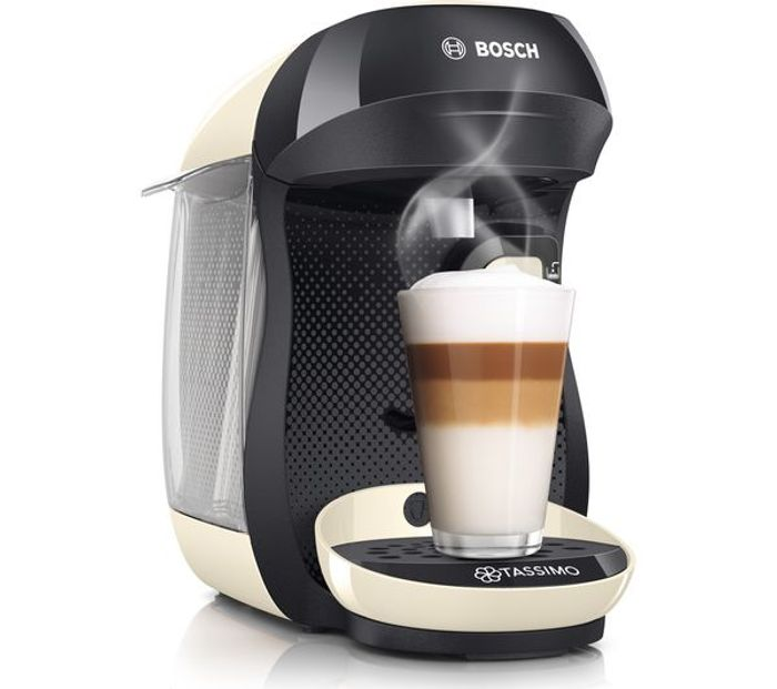 *SAVE £60* TASSIMO by Bosch Happy Coffee Machine 4 Colours