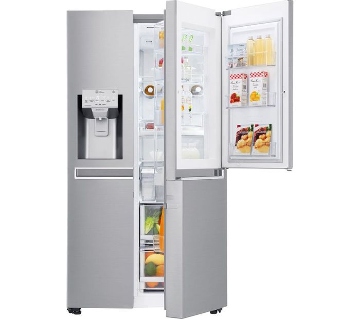*SAVE £270* LG American-Style Smart Fridge Freezer - Steel