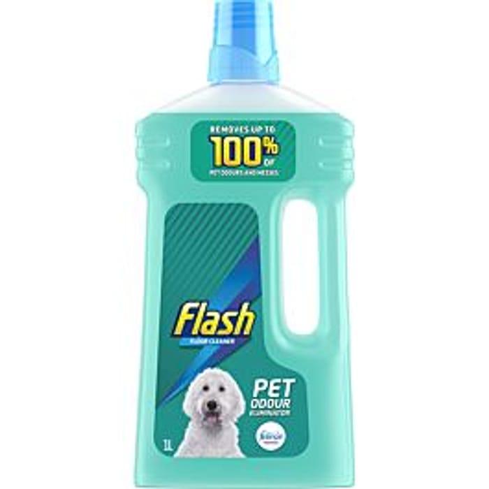 Flash Pet Floor Cleaner Liquid - 1L