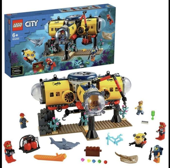 LEGO City Ocean Exploration Base Underwater Set - 60265789/0907