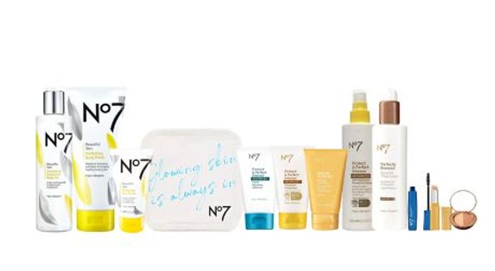 No7 Summer Blockbuster Bundle - Only £52.65 with Code (Worth £128.50)