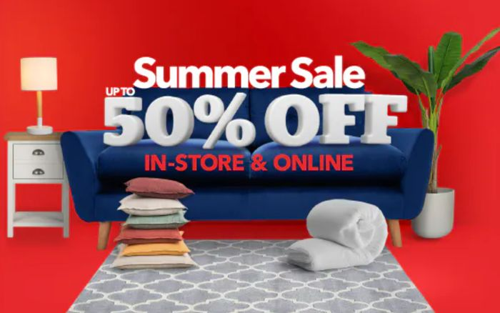 Dunelm Summer Sale - Up To 50% Off 8000+ Lines!